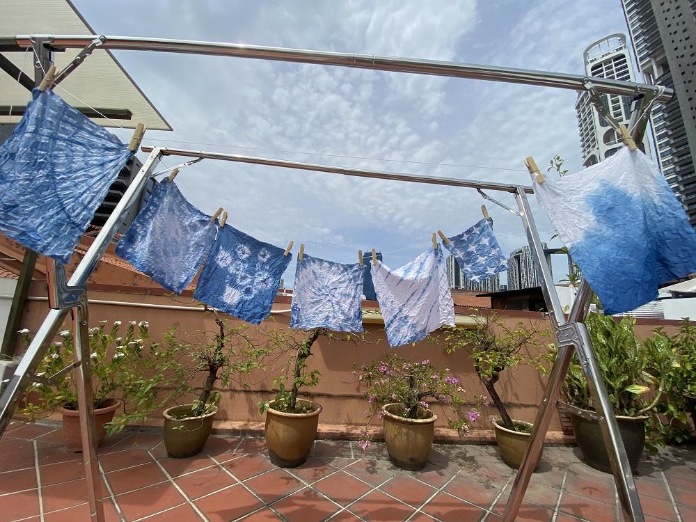 Tie-dye workshop singapore